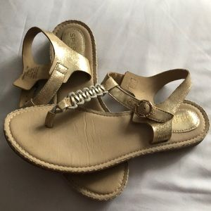 Spermy top sider leather sandals size 7.5